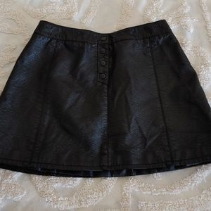 H&M Divided leather skirt